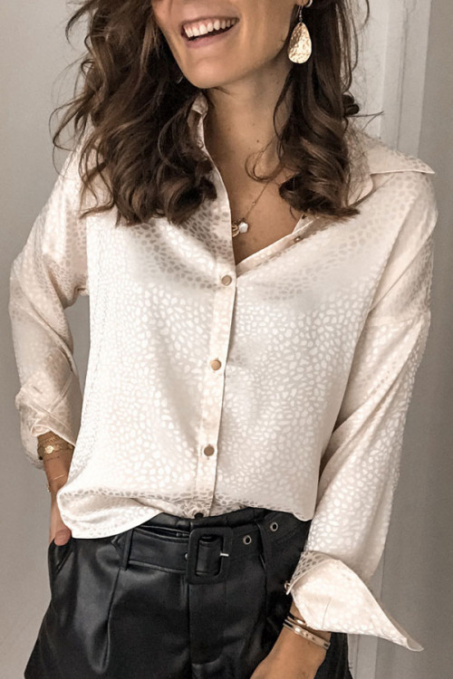 Printed Buttoned Up Shirt