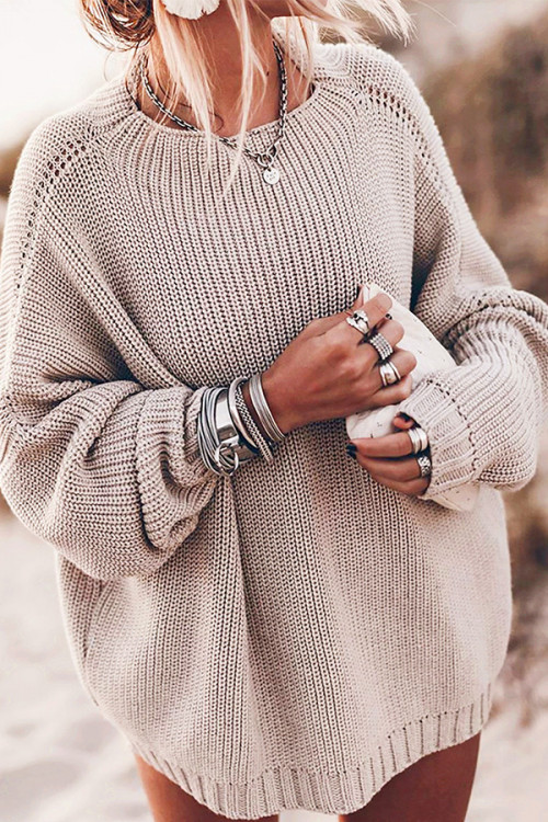 Baggy Casual Knit Sweater
