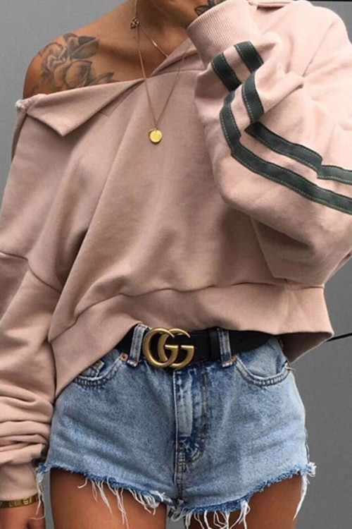 Casual Short Pullover Hoodie