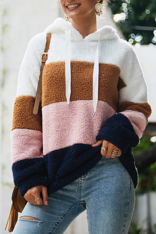 Fluffy Casual Hoodie