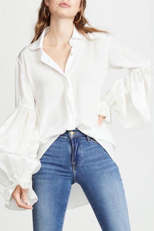 Plain High Low Shirt