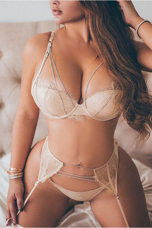 Sexy Lingerie Set With Rhinestone