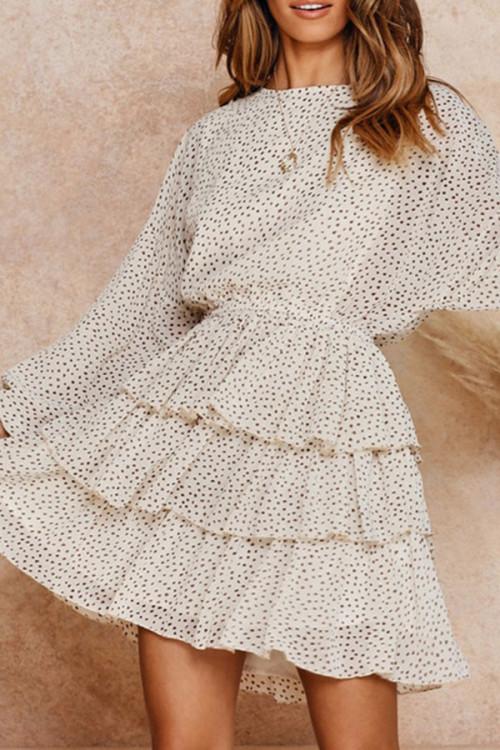 Tiered Layer Ruffle Dress