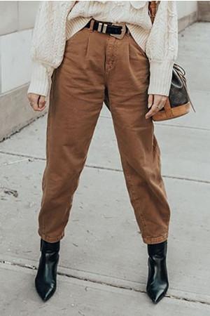 Casual Hhigh Waist Jeans
