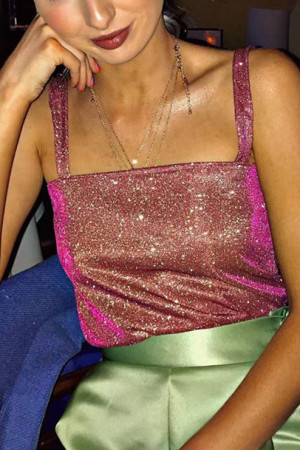 Sparkly Glitter Cami Top