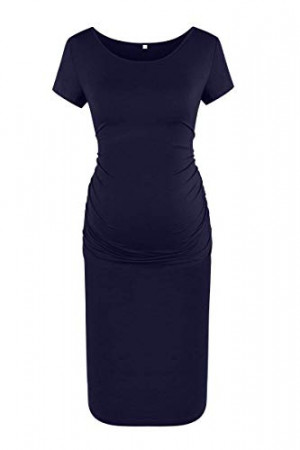 Basic Bodycon Maternity Dress