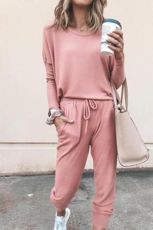 Casual Pants Two-piece Suit