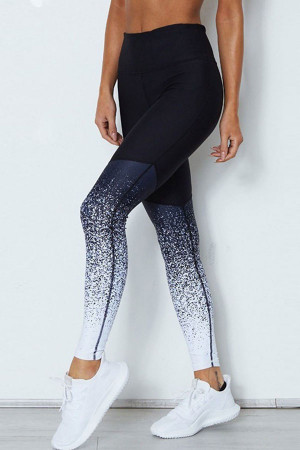 High Waist Speckled Sports Leggings