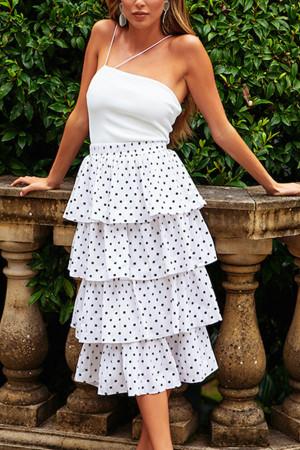 Layered Ruffles Skirt Set
