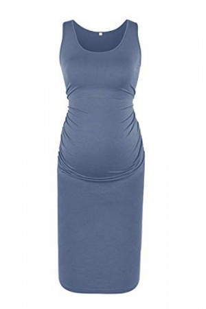 Maternity Fitted Tank Dress AFB