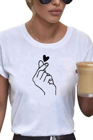 Print Short Sleeve T-shirt