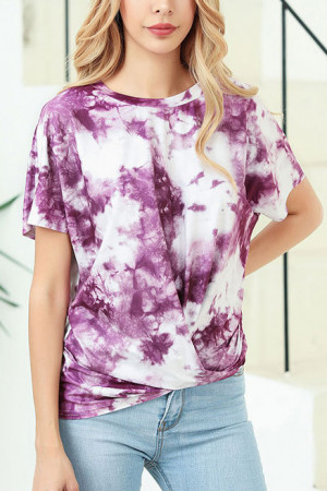 Scoop Tie Dye T-shirt