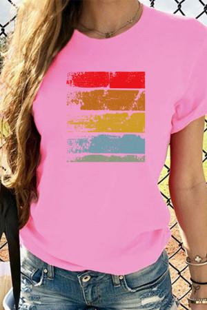 Short-Sleeve Round Neck T-shirt