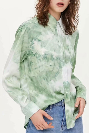 Tie Dye Pockets Shirt