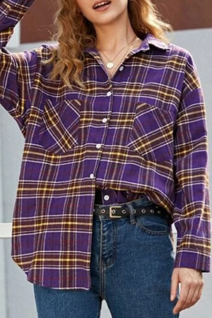 Single Breasted Double Pocket Shirt