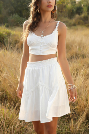Cami Top Skirt Two Pieces Set