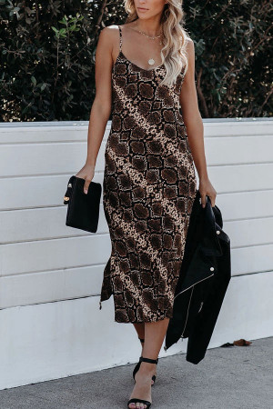 Python Print Split Cami Dress