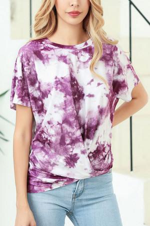 Scoop Tie Dye T-shirt