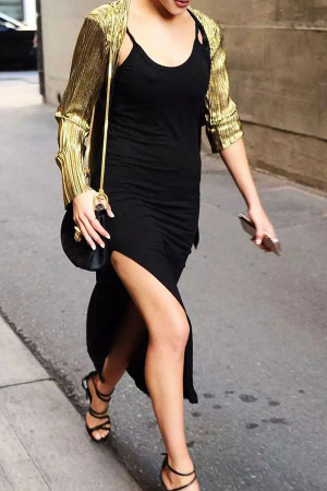 Side Split Cami Dress