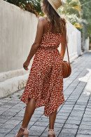 Polka Dot Spaghetti Strap Dress