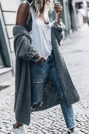 Loose Bat-sleeved Knitwear Cardigan