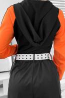 Active Zip Hooded Bodysuit