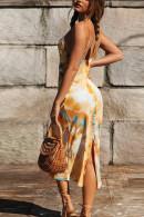 Back Split Cami Dress