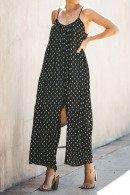 Backless Spaghetti Straps Jumpsuit