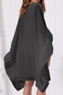 Batwing Sleeve Chiffon Dress