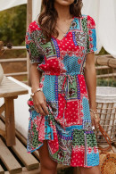 Boho Printed Summer Dress