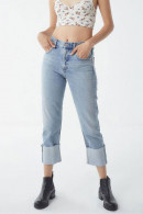 Casual Roll Up Jeans