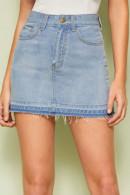 Casual Short Denim Skirt