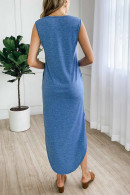 Casual Sleeveless Tank Dress
