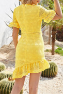 Sexy V-neck Cutout Dress