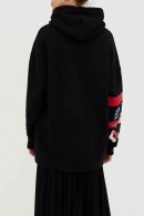 Embroidery Plush Loose Hoodie