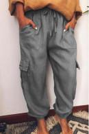 Flap Pockets Jogger Pants