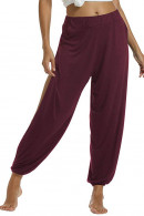 High Slit Harem Yoga Pants