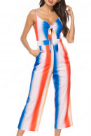 Knot Front Spaghetti straps Jumpsuit