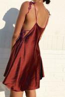 Knot Shoulder Cami Dress