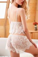 Lace Harness Lingerie Set