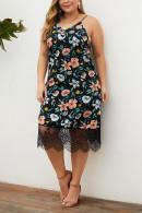 Plus Size Floral-Print Dress