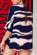 Plus Size Striped T-shirt