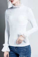 Plus Solid Pullover Shirt