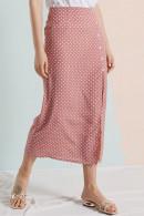 Polka Dot Chiffon Skirt