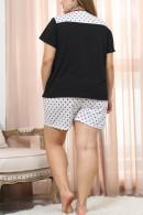 Polka Dot Shorts PJ Set