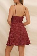 Print Knot Cami Dress