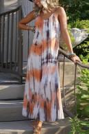 Print Tie Dye Cami Dress
