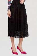 Retro Plain Lace Skirt