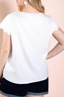 Ruffles Sleeves Loose T-Shirt