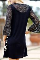 Scoop A-Line Dress